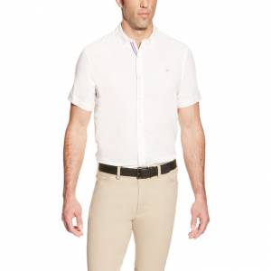 Ariat FEI Aero Show Shirt - Mens - White