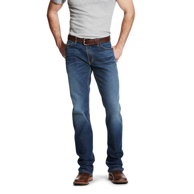 6d170e5f7a7fc4 Ariat Relentless Relaxed Fit Jeans Mens Highway Campbell