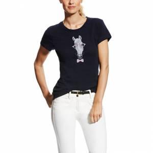 Ariat Haberdashery Tee - Ladies - Navy
