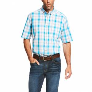 Ariat Lowry Short Sleeve Performance - Mens - White