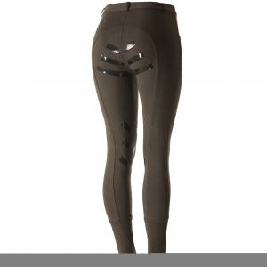 Horze Iris Knitted Silicone Full Seat Junior Breeches