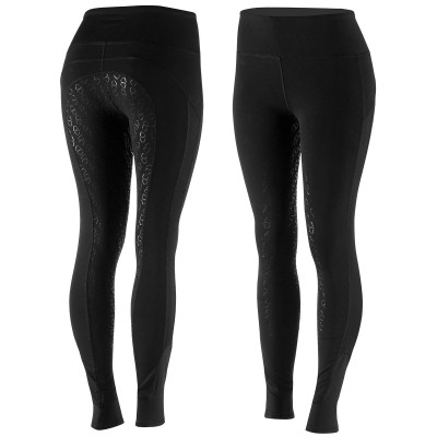 Horze Iris Women's Silicone Full Seat Tights with Mesh