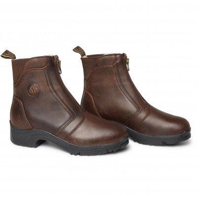Mountain Horse Ladies Snowy River Zip Paddock Boots