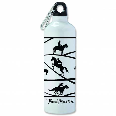 Kelley Trail Master Aluminum Sports Bottle with Carabiner