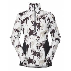 Kerrits Protek Fleece Zip Neck - Ladies - Horseplay Print