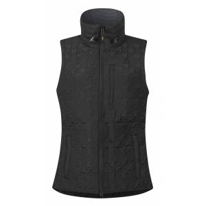 Kerrits Quilted Houndstooth Riding Vest - Ladies