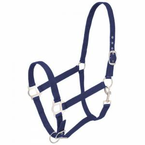 Tough-1 Nylon Horse Halter with Snap