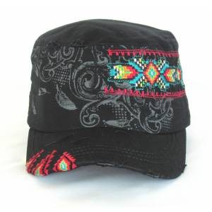 Savana Patch Army Hat - Tribal