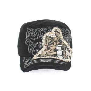 Savana Patch Army Cap - Barrel Racer