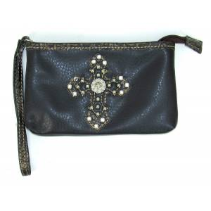 Savana Cosmetic Bag With Cross