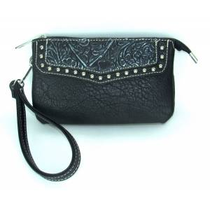 Savana Event Approved Wrislet/Clutch With Zippered Closure