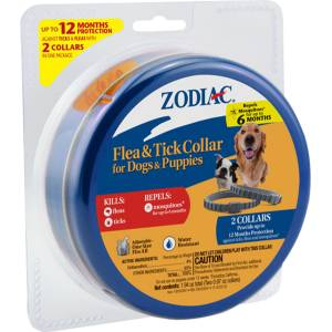 Zodiac Flea & Tick Collar For Dog And Puppies