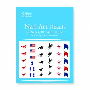 Kelley Gallop Horse Nail Art Decals