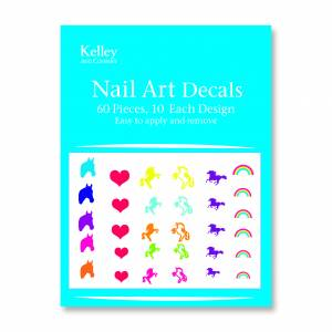 Kelley Fantasy Horse Nail Art Decals