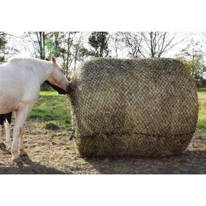 Tough-1 6ft x 6ft Round Bale Slow Feed Hay Net