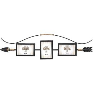 Gift Corral - Arrow Frame Wall Dcor with 3 Frames