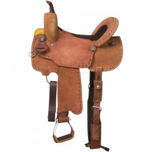 Royal King Branson Rough Out Barrel Saddle