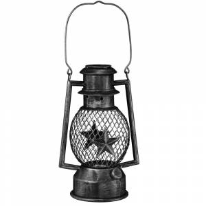 Gift Corral Star LED Metal Lantern