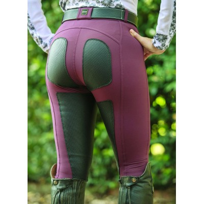 FITS PerforMAX Full Seat Zip Front - Ladies - Bordeaux