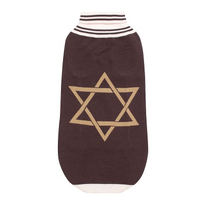 Halo Star Of David Dog Sweater