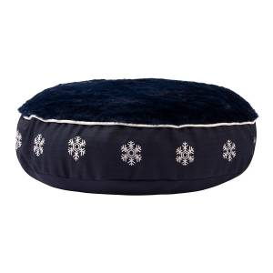 Halo Winter Wonderland Round Dog Bed