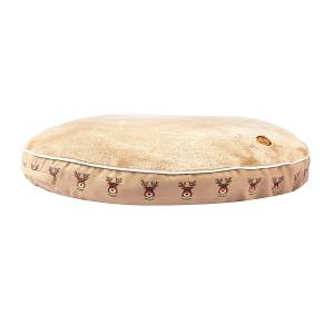Halo Rudolph Round Dog Bed