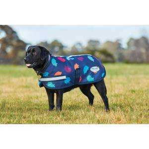 Weatherbeeta Parka 1200D Dog Coat - Hedgehog Print