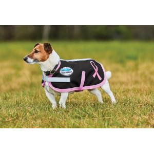 Weatherbeeta Parka 1200D Dog Coat Breast Cancer Foundation