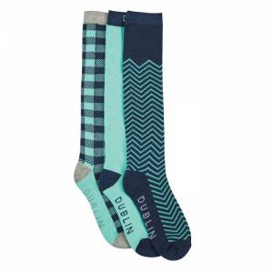 Dublin Gingham Socks Pack