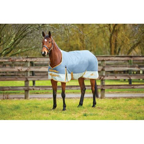 Saxon 1200D Standard Neck Turnout Blanket With Gusset ll-Medium