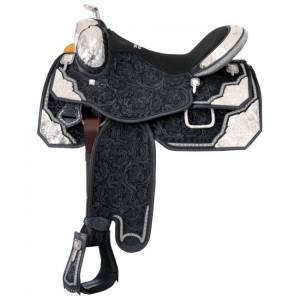 Silver Royal Extreme Show Saddle With Silver