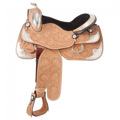 Silver Royal Grand Champion Show Saddle with Silver Package