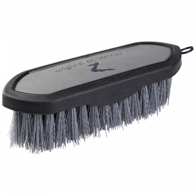 Horze Maddox Leather Handle Dandy Brush