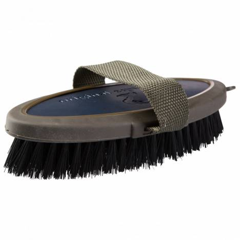 Horze Maddox Leather Handle Body Brush