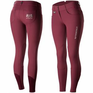 B Vertigo Kimberley Self Knee Patch Breeches - Ladies