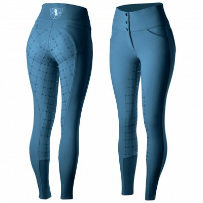 Horze Desiree Silicone Full Seat Breeches - Ladies