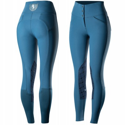 Horze Desiree Silicone Knee Patch Breeches - Ladies