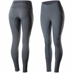 Horze Isabella Silicone Full Seat Tights - Ladies