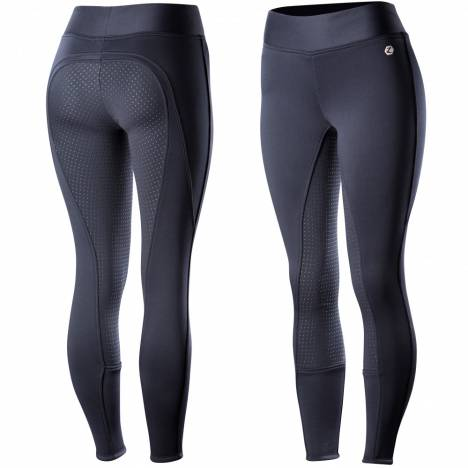 Horze Active Silicone Full Seat Tights - Ladies