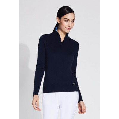 Noel Asmar Harper 1/4 Zip Turtleneck - Ladies