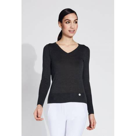 Noel Asmar Jesse V-Neck Merino Sweater - Ladies