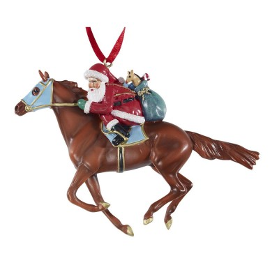 Breyer Off to the Races Ornament 700650