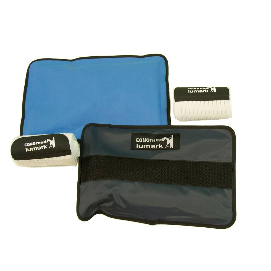Equomed Lumark Gel Pack Thermo Therapy Ankle-Rib Kit