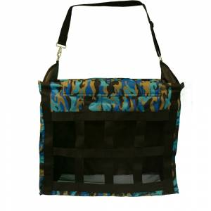 Deluxe Top Load Hay Bag - Blue Camo