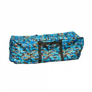 Hay Bale Storage Bag 3 Wire - Blue Camo
