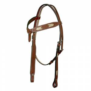 Western Knotted Brow Headstall