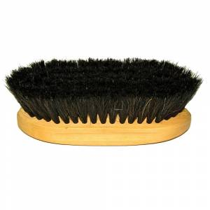 Horse Hair Bristle Finishing Brush