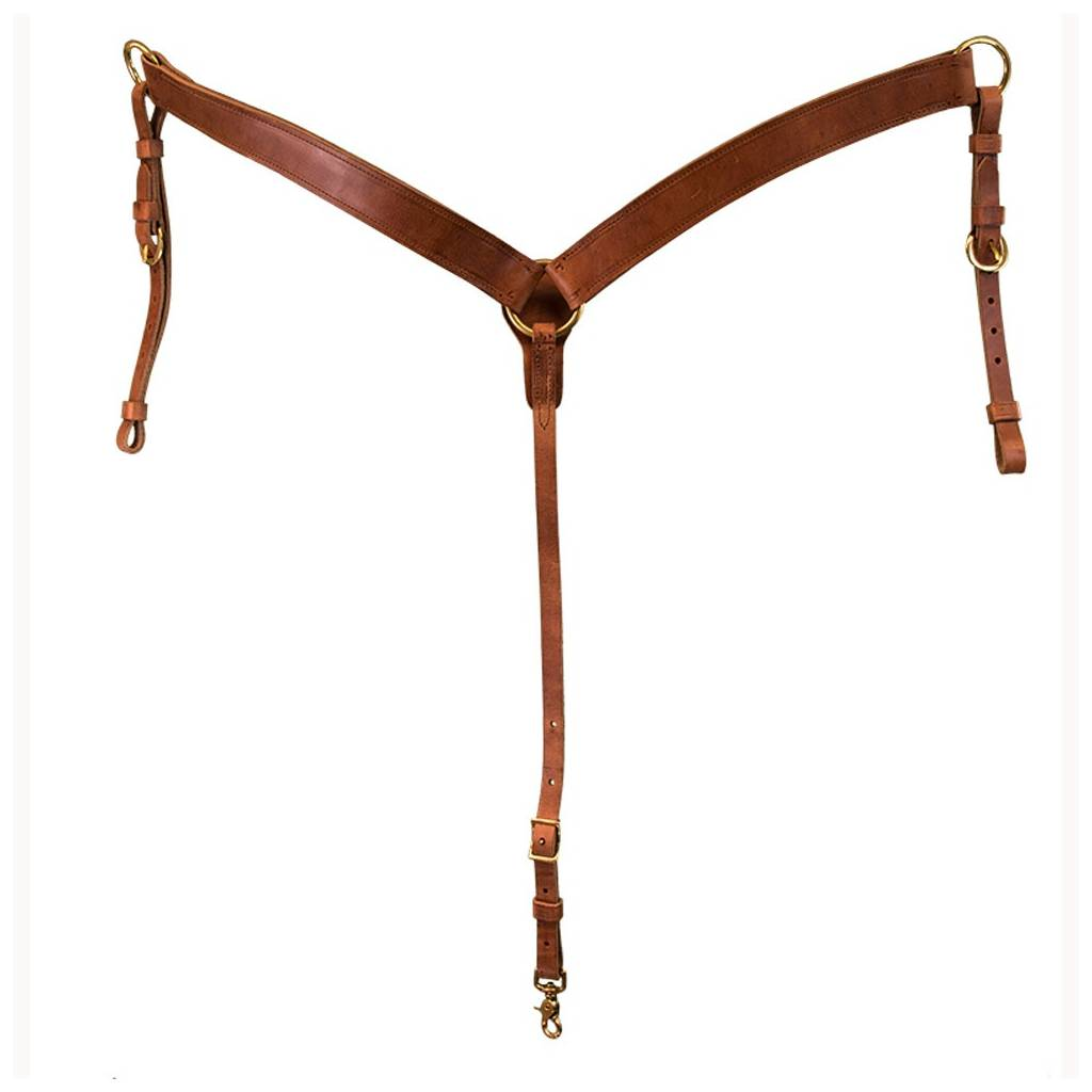 Western Breast Collar Harness Leather