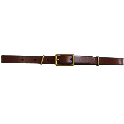 Bridle Leather Curb Strap