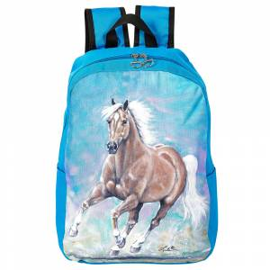 Galloping Palomino Backpack